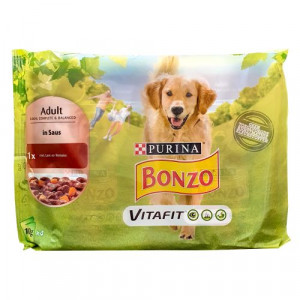 Purina Bonzo Adult 4x100g