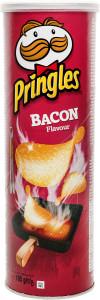 Pringles ar bekona garšu - Kartupeļu čipsi 165g