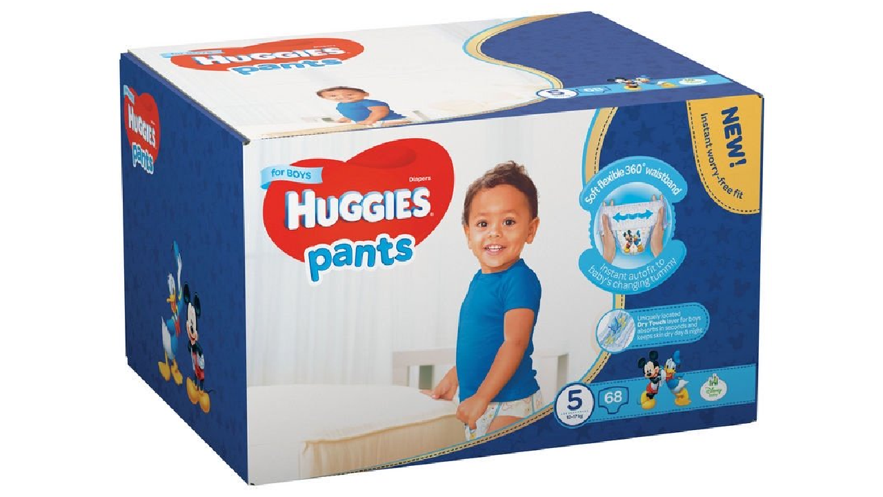 Huggies Pants Boy 5 (12-17kg) 68gb.