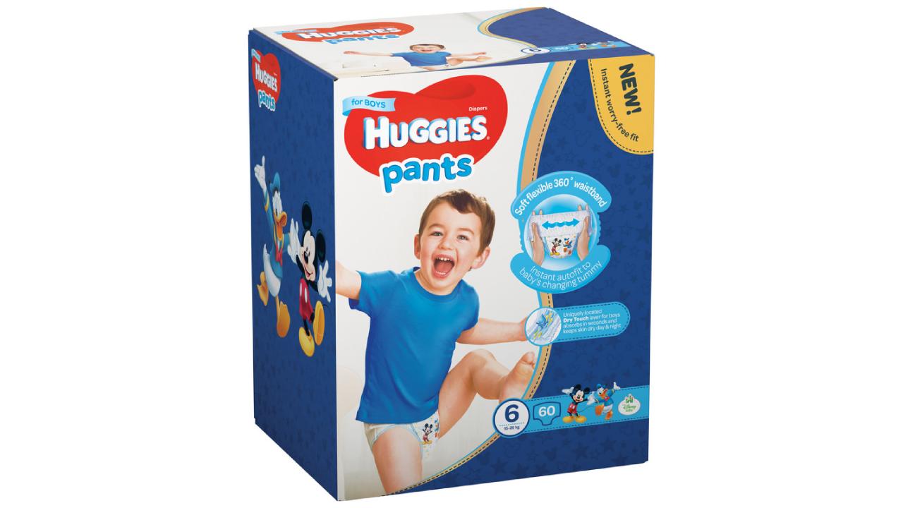 Huggies Pants Boy 6 (15-25kg) 60gb.