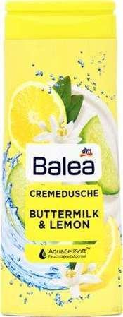 Balea dušas želeja Buttermilk & Lemon 300ml