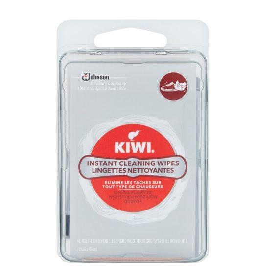 Kiwi apavu tīrīšanas salvetes x4   Multum.lv