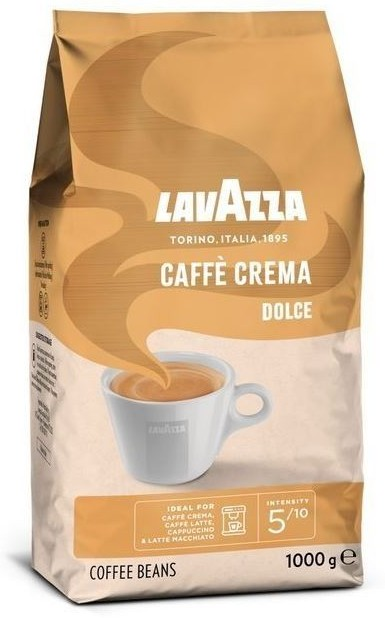 Lavazza CAFE CREMA Dolce kafijas pupiņas 1kg