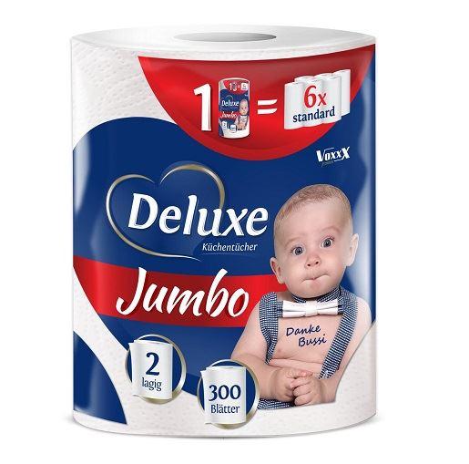 Deluxe Jumbo 2-slāņu virtuves dvieļi