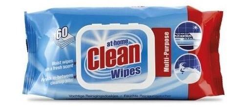 At Home Clean universal mitrās salvetes x60   Multum.lv