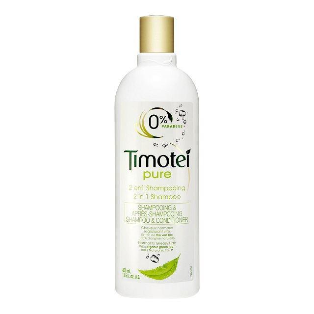 Timotei 2in1 Pure šamūpns un kondicionieris taukainiem matiem 400ml