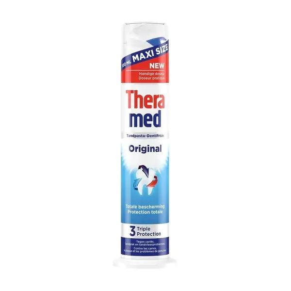 Theramed Original 3-kāršas aizsardzības zobu pasta 100ml