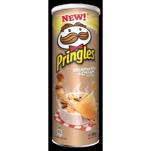 Pringles čipsi ar sēņu garšu 165g