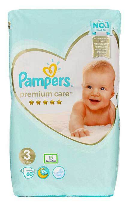 Pampers Premium Care #3 (6-10kg) x60