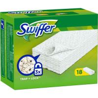 Swiffer Dry mop  (mazās salvetes) 18 gab. | Multum