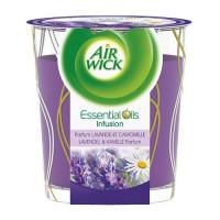 Air Wick Essential Oils svece ar lavandu 105g | Multum