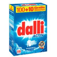Dalli Activ baltai veļai, 110 mazgāšanas reizēm,  7.15kg   Multum