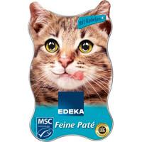 Edeka Feine Pate Konservēta barība kaķiem - zivs pastēte  85g | Multum