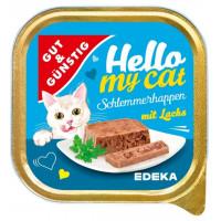 G&G Hello My Cat pastēte kaķiem ar lasi 100g | Multum