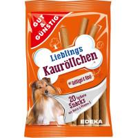 G&G Lieblings Kaurollchen Gefl Rind x20 200g | Multum