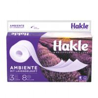 Hakle Lavendel tualetes papīrs 3 slāņi x8   Multum