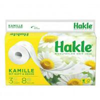 Hakle Kamille tualetes papīrs 3 slāņi x8   Multum