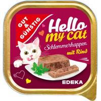 G&G Hello My Cat pastēte kaķiem ar liellopa gaļu 100g | Multum