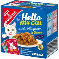 G&G Hello My Cat gaļas gabaliņi mērcē 8 gab. 800g | Multum