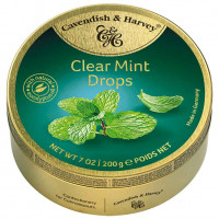 C&H Clear Mint Drops 200g   Multum