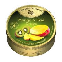 C&H Mango Kiwi Drops 200g   Multum