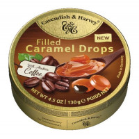 C&H Filled Caramel dražejas ar kafiju 130g   Multum
