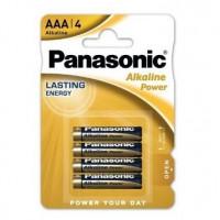 Panasonic AAA alkaline baterijas 4x | Multum