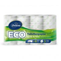 Deluxe 3slāņu ECO tualetes papīrs x8   Multum