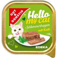 G&G Hello My Cat Schlemmerhappen Kalb pastēte kaķiem ar teļa gaļu 100g | Multum