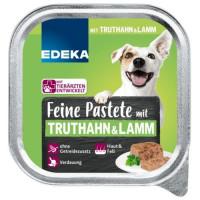 Edeka Feine Pastēte suņiem ar tītara & jēra gaļu 150g | Multum