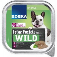 Edeka Herzhafte Bissen pastēte suņiem ar medījuma gaļu 300g | Multum