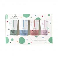Naif 100% dabisks, hipoalerģisks, The Mini Set (4x travel size product 15ml) | Multum