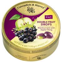 C&H Double Fruits upeņu dražejas ar ābolu pildījumu 175g   Multum