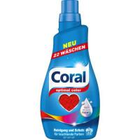 Coral Optimal Color krāsainas veļas mazgāšanas želeja x22 1.1L | Multum