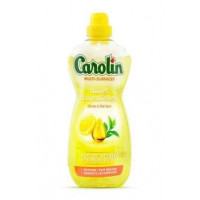 Carolin visu virsmu grīdas tīrīšanas līdzeklis ar citrona un zaļās tējas aromātu 1L   Multum