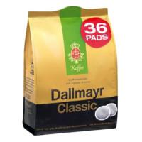 Dallmayr Classic kafijas spilventiņi x36 248g   Multum
