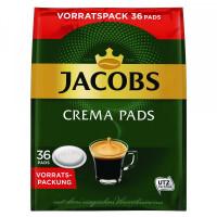 Jacobs Crema kafijas spilventiņi  x36 237g   Multum