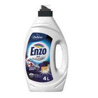 Enzo 2in1 Black želeja melnas veļas mazgāšanai x100 4L | Multum