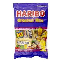 Želejas konfektes Haribo Greatest Hits x14 Mini Bags 350g | Multum