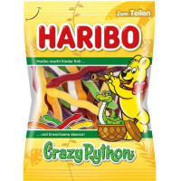 Želejas konfektes Haribo Crazy Python Żelki 175g | Multum
