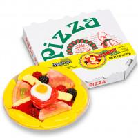 Želejas konfektes MINI JELLY PIZZA 85g | Multum