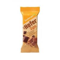 Seeberger batoniņš ar tumšo un piena šokolādi Hafer2go 50g   Multum