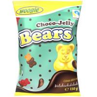Woogie Bears želejas konfektes ar piena šokolādi 150g | Multum