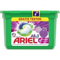 Ariel Color Allin1 kapsulas krāsainai veļai x12 315.6g | Multum
