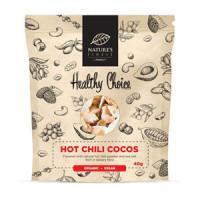 Nature's finest BIO Hot Chilli Cocos Chips 40g. BIO koksriekstu čipsi ar aso čilli. 40g | Multum