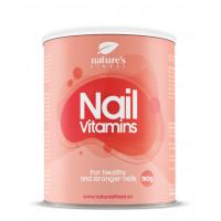 Nature's finest Nail Vitamins Drink mix. Vitamīnu kompleksa dzēriens stipriem un skaistiem nagiem. Ar kolagēnu, MSM, minerālvielām, selēnu un C vitamīnu. 150g | Multum