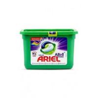 Ariel Color Allin1 kapsulas krāsainas veļas mazgāšanai x15 450g | Multum