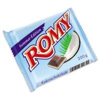 Romy Kokosschokolade piena šokolāde ar kokosriekstu garšu 200g | Multum