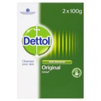 Dettol Original antibakteriālas ziepes 2x100g | Multum