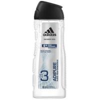 Adidas Adipure dušas želeja vīriešiem 0% ziepes 400ml | Multum
